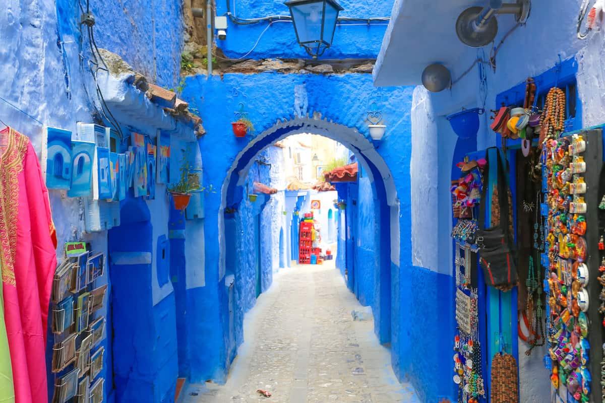 Callejon Azul en Chaouen