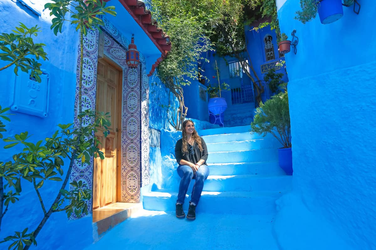Chefchaouen is the blue pearl of Morocco
