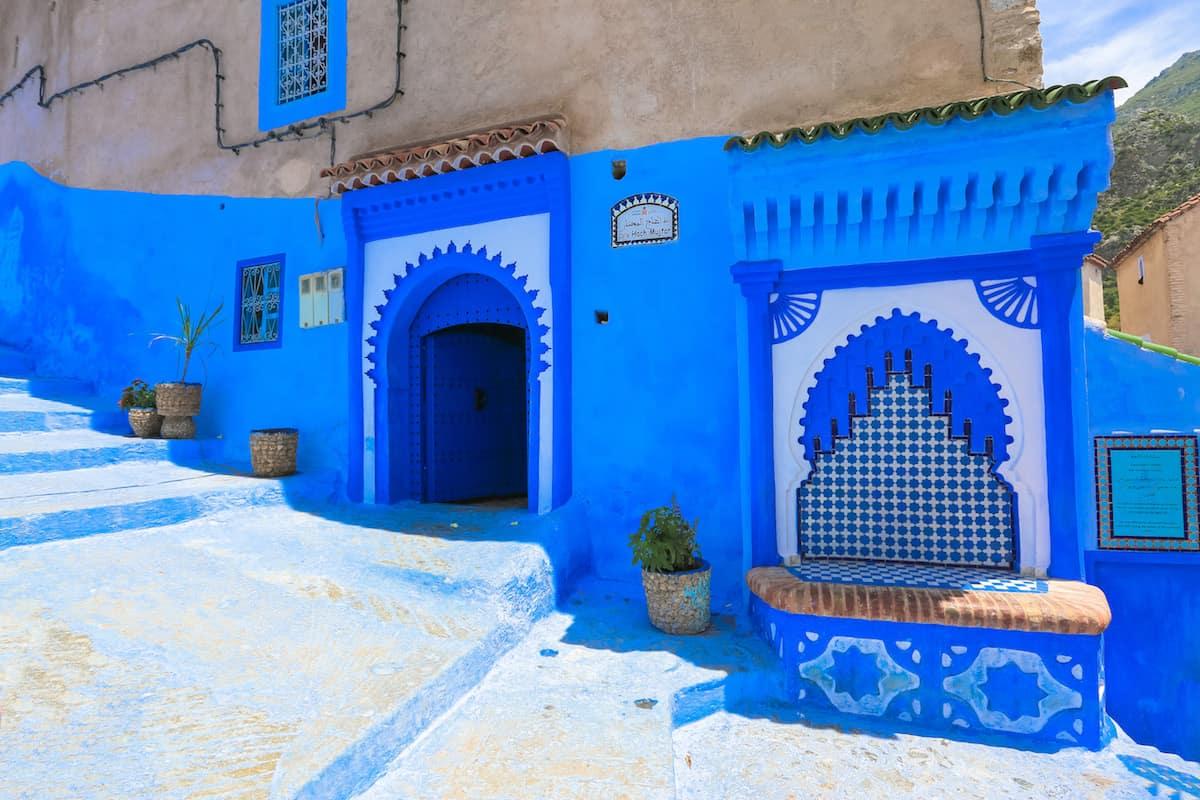 El Pueblo Azul de Chefchaouen, Marruecos