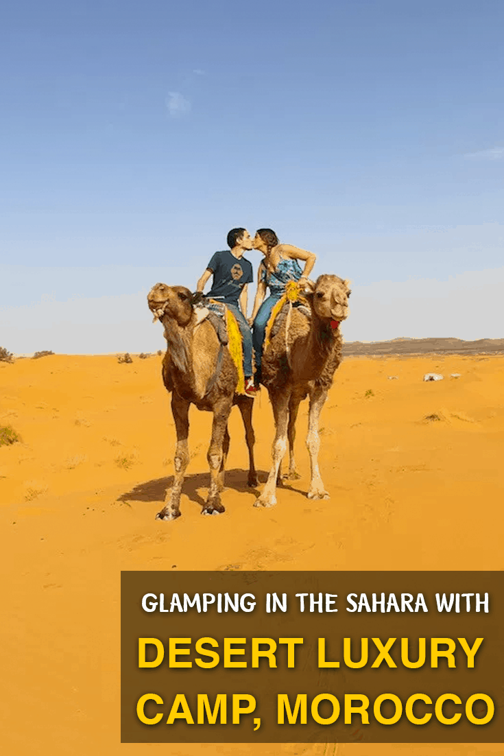 Desert Luxury Camp is a once-in-a-lifetime experience glamping beneath the stars in luxury in Merzouga, Morocco