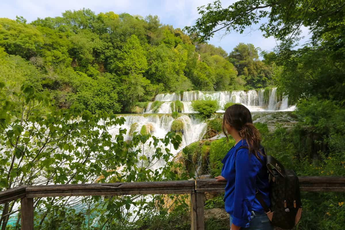 visiting Krka National Park