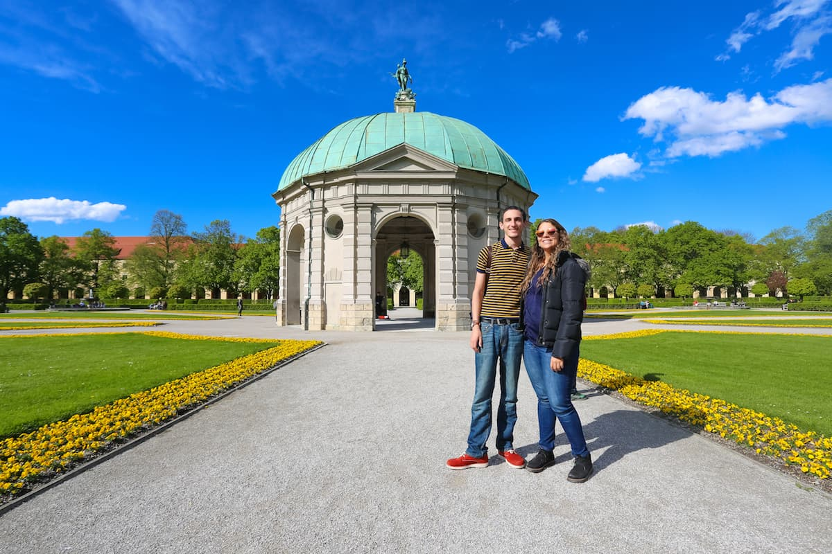 Take a stroll at Hofgarten