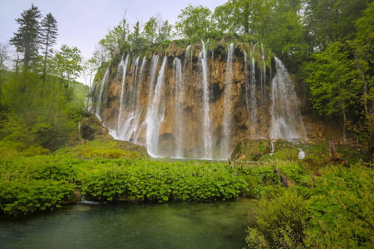 Tarifas de entrada a los lagos de Plitvice