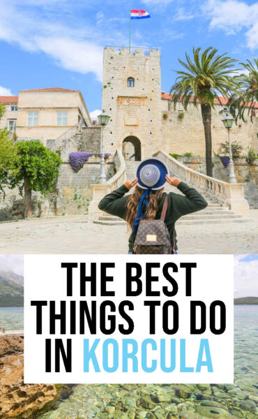 The best things to do and see in Korcula