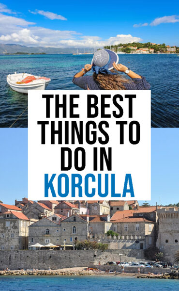 The best things to do in Korcula