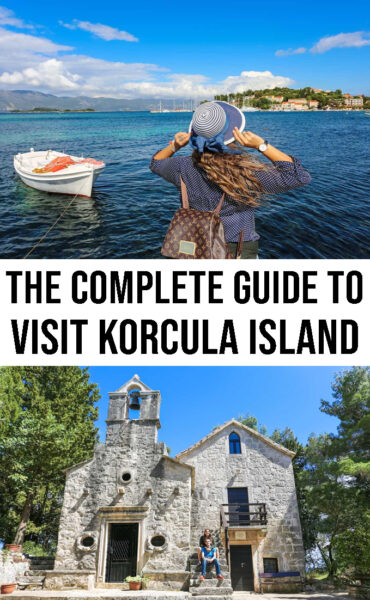 The complete guide to visit Korcula in Croatia