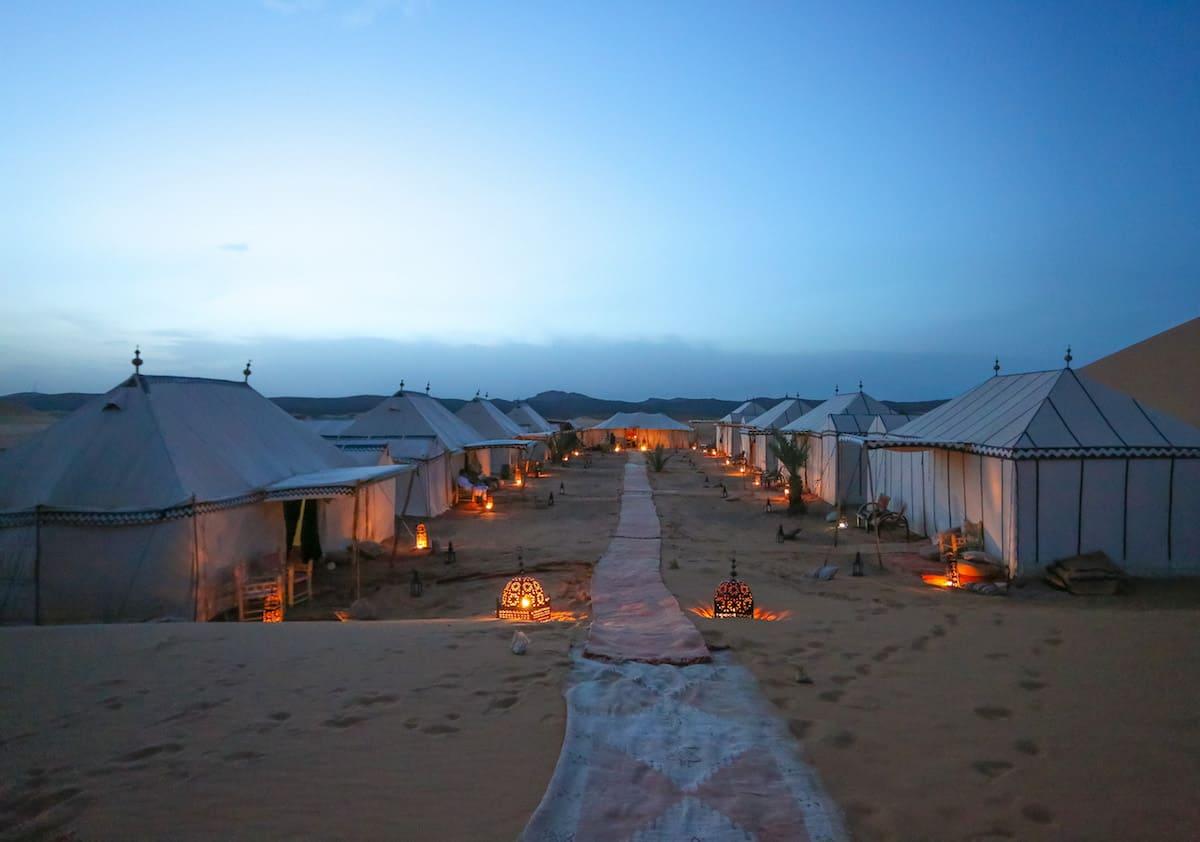 Guía para Dormir en el Desierto de Merzouga, Marruecos