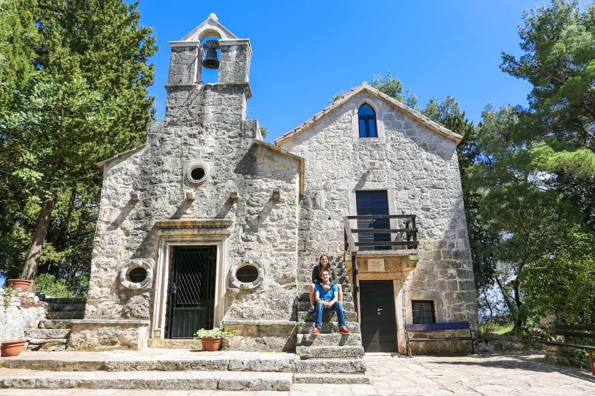 La Iglesia de San Antonio en Korcula