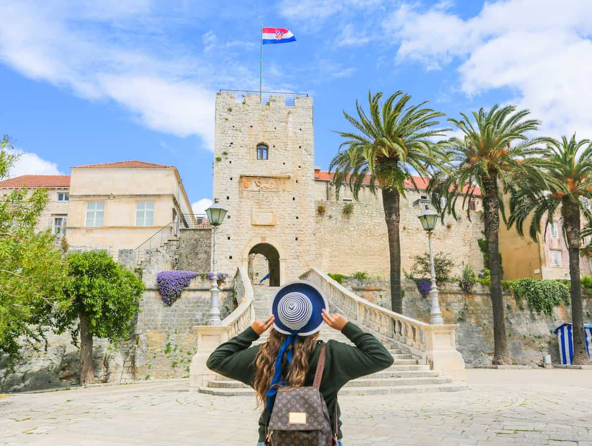 What to visit in the city of Korcula