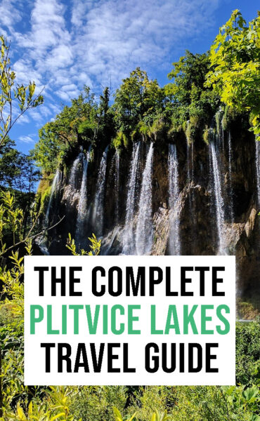 The complete travel guide to Plitvice Lakes