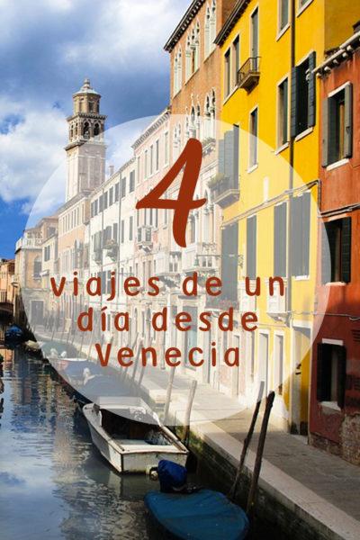 4 viajes desde Venecia