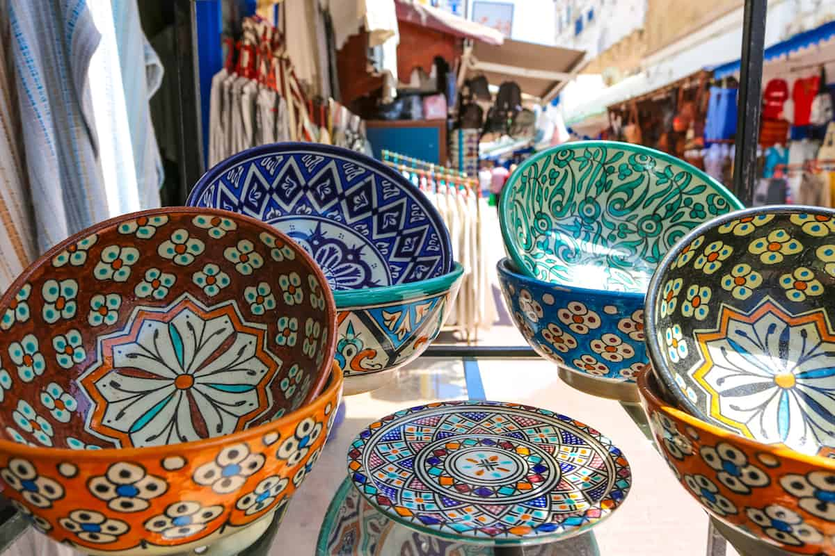 handcraft from the Essaouira's Medina.