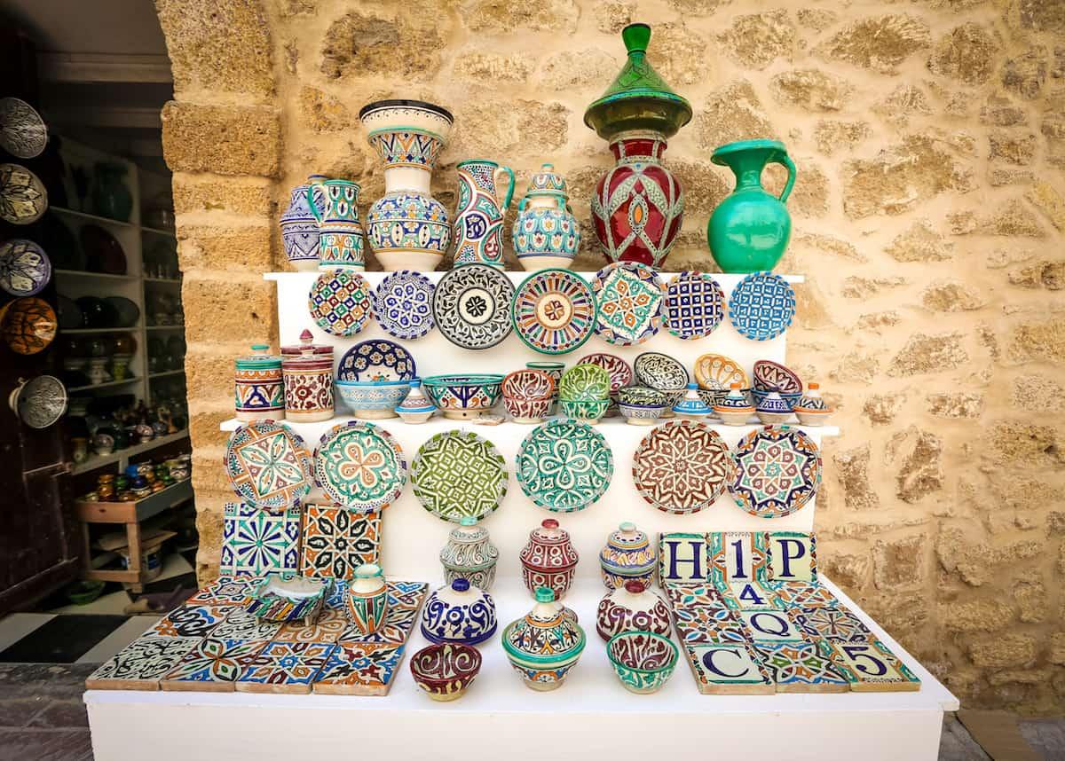 adornos en Essaouira