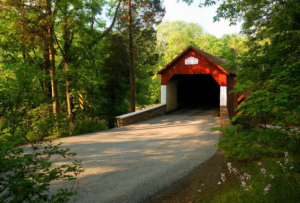 Puentes Cubiertos de bucks County