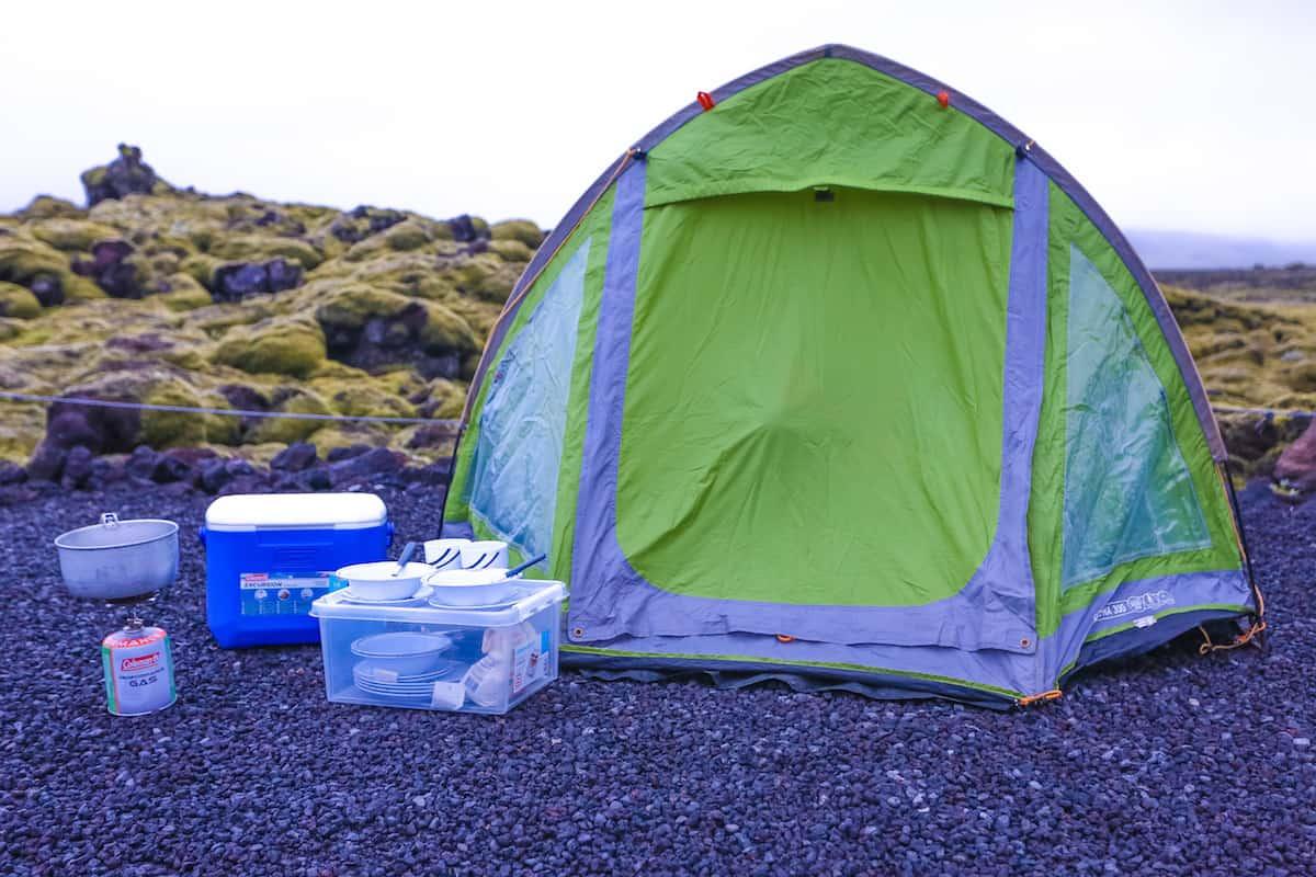 Dónde acampar en Islandia