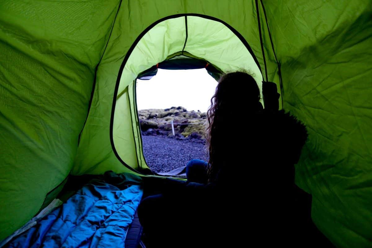 acampar en islandia