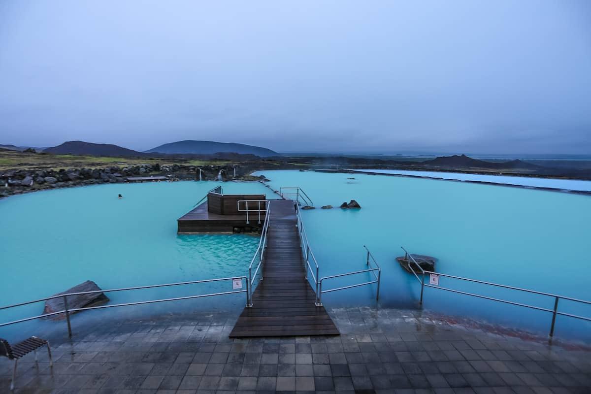 Relajarse en el Blue Lagoon (Laguna Azul)