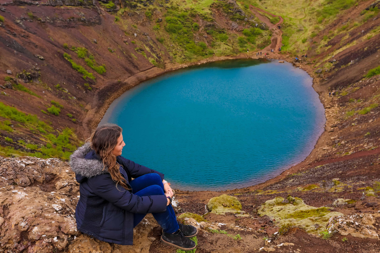 Subir hasta el cráter Kerio