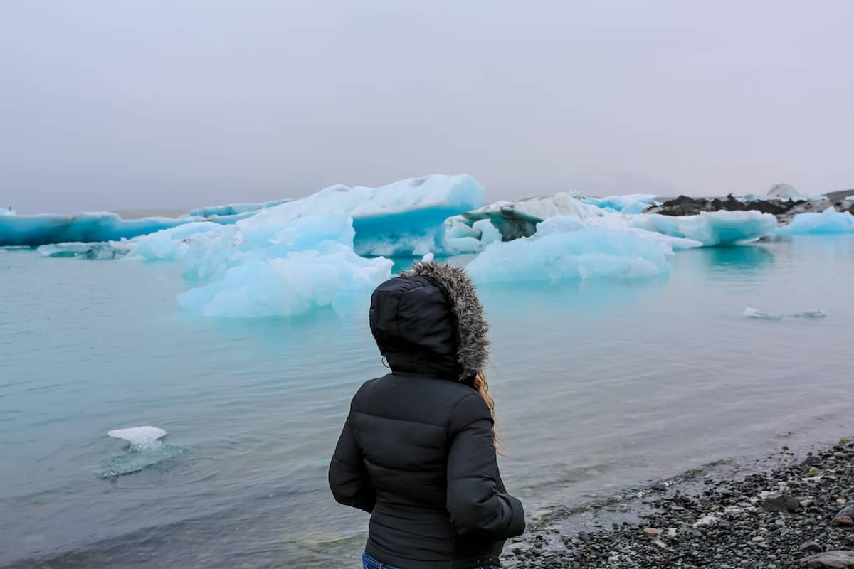Jökulsárlón Iceberg Lagoon Islandia