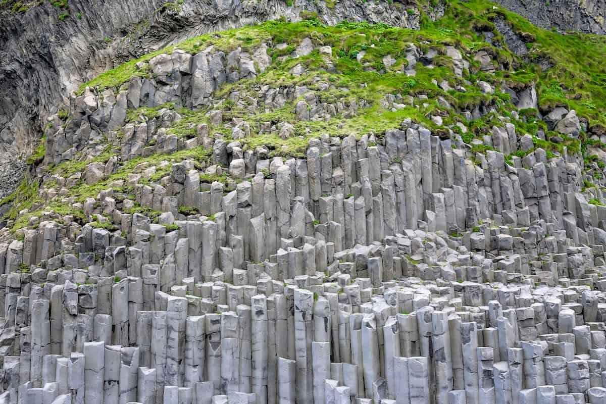 Columna de basalto de Reynishverfi