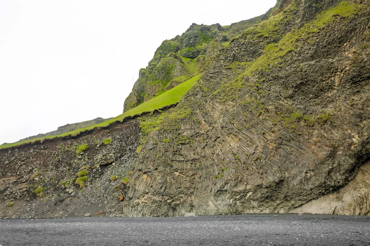 Columna de basalto de Reynishverfi black sand