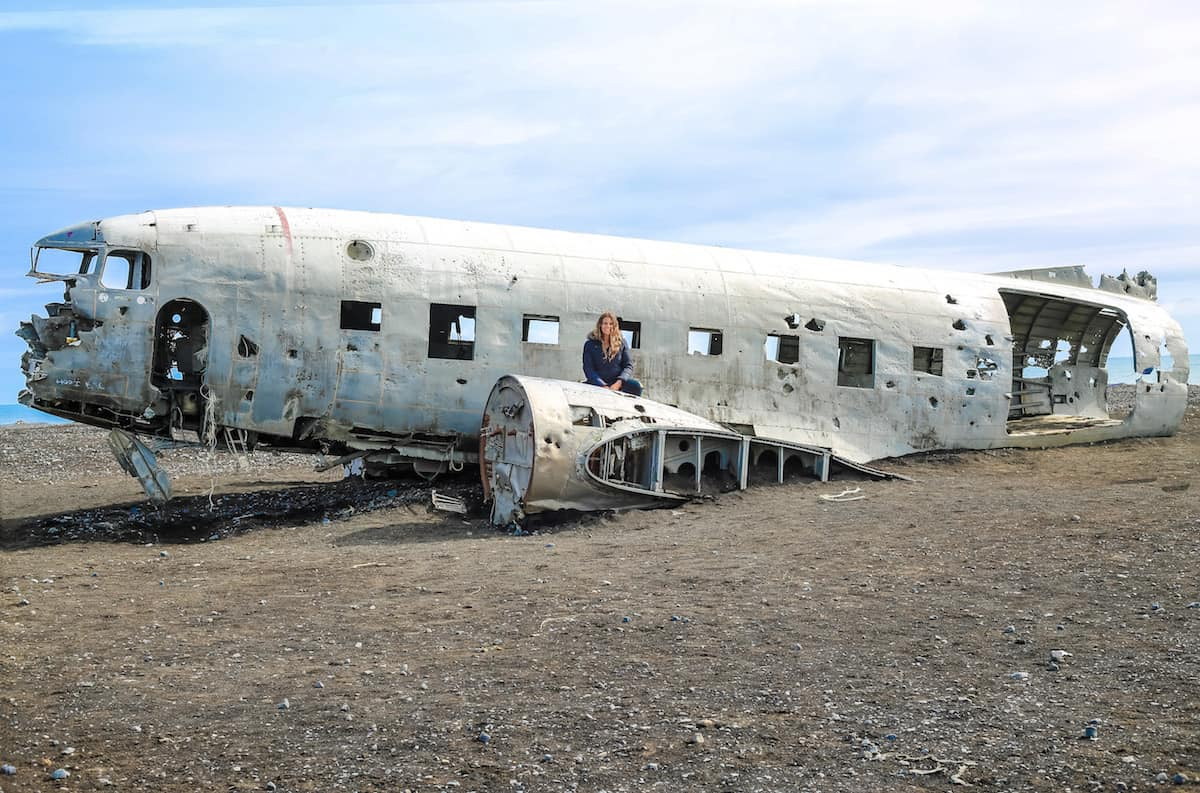 Accidente del avión Solheimasandur con Jazmin