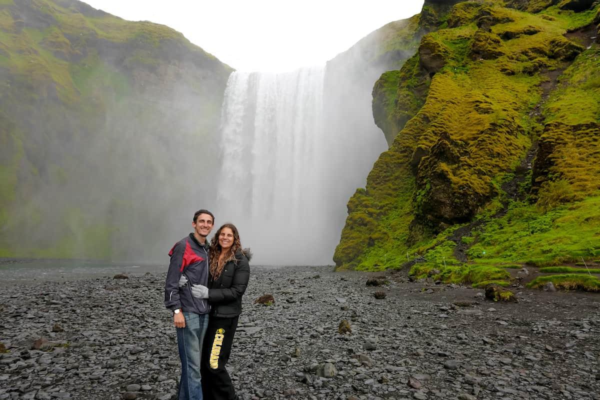 Cascada Skogafoss Guía Para Conducir la Ruta Circular, Ring Road, de Islandia