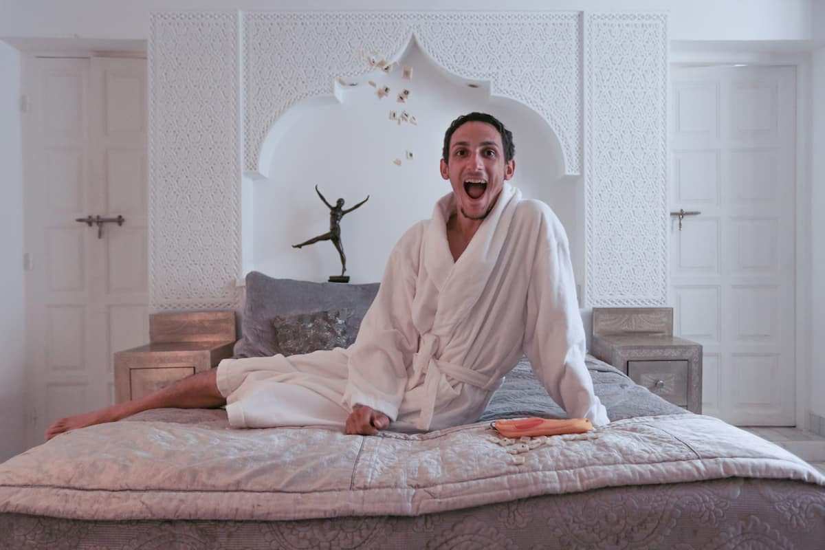 Riad Star in Marrakech bedroom