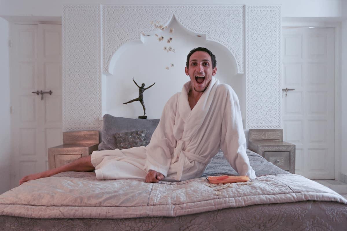 Riad Star in Marrakech bedroom