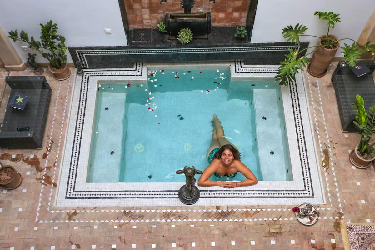 Riad Star in Marrakech Pool