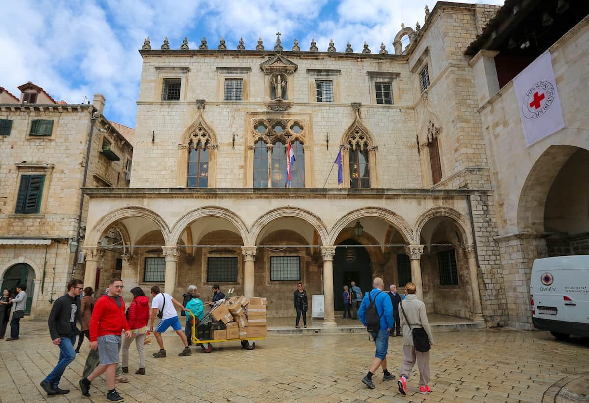 El Palacio de Sponza- Archivos históricos