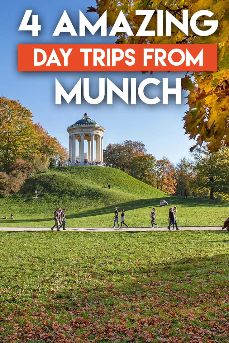 Whether you live in or around Munich, or are visiting somewhere near Munich, there are PLENTY of places to go if you're looking to take advantage of a beautiful day! These are the best day trips from Munich all year round!