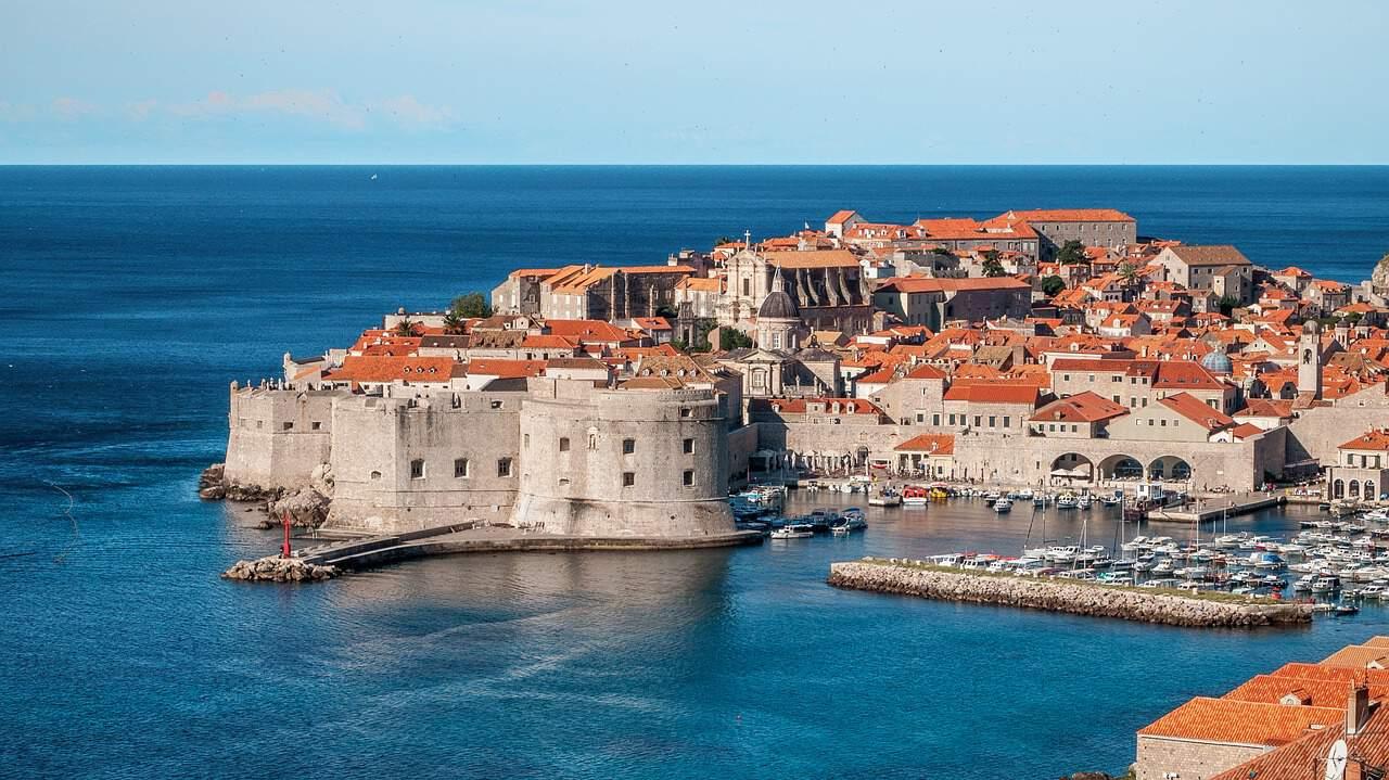 Las murallas de la ciudad vieja de Dubrovnik