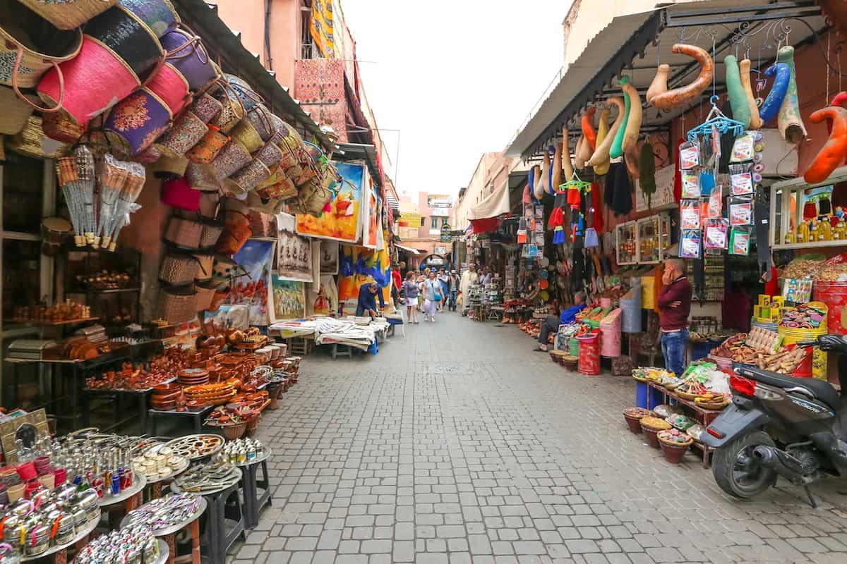 El Mercado de la medina - Que ver en Marrakech