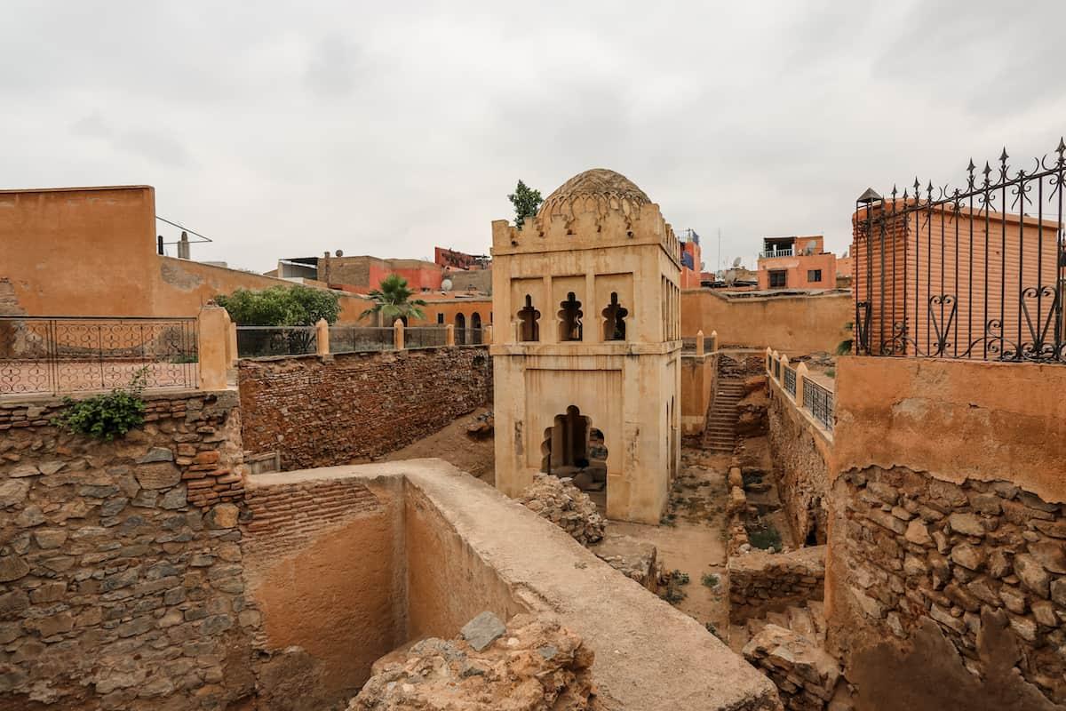 El Almoravid Koubba - Que ver en Marrakech