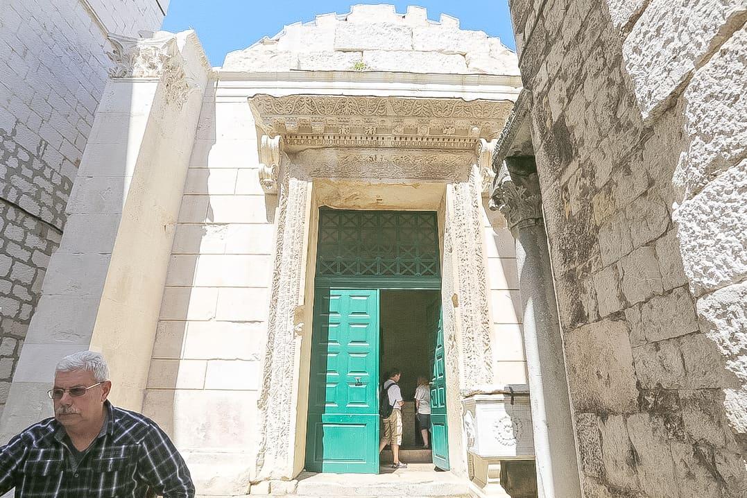 El templo de Júpiter