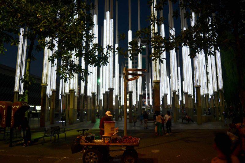 Plaza Cisneros (Parque de las Luces)
