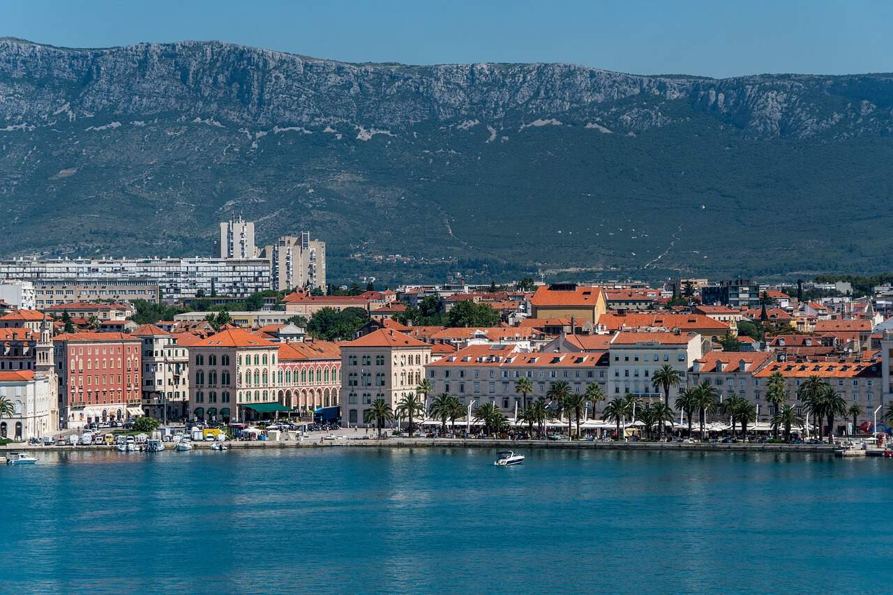 Take a stroll along the Riva: Split's Waterfront