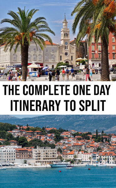 The complete one day Itinerary to Split