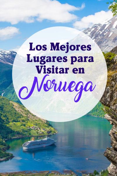 Los mejores lugares turísticos para visitar en Noruega
