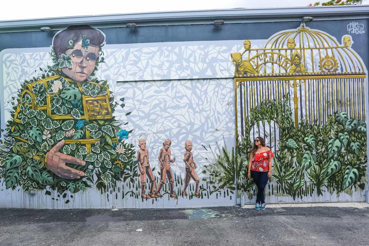 Wynwood Walls Street Graffiti Art - Murales en Miami