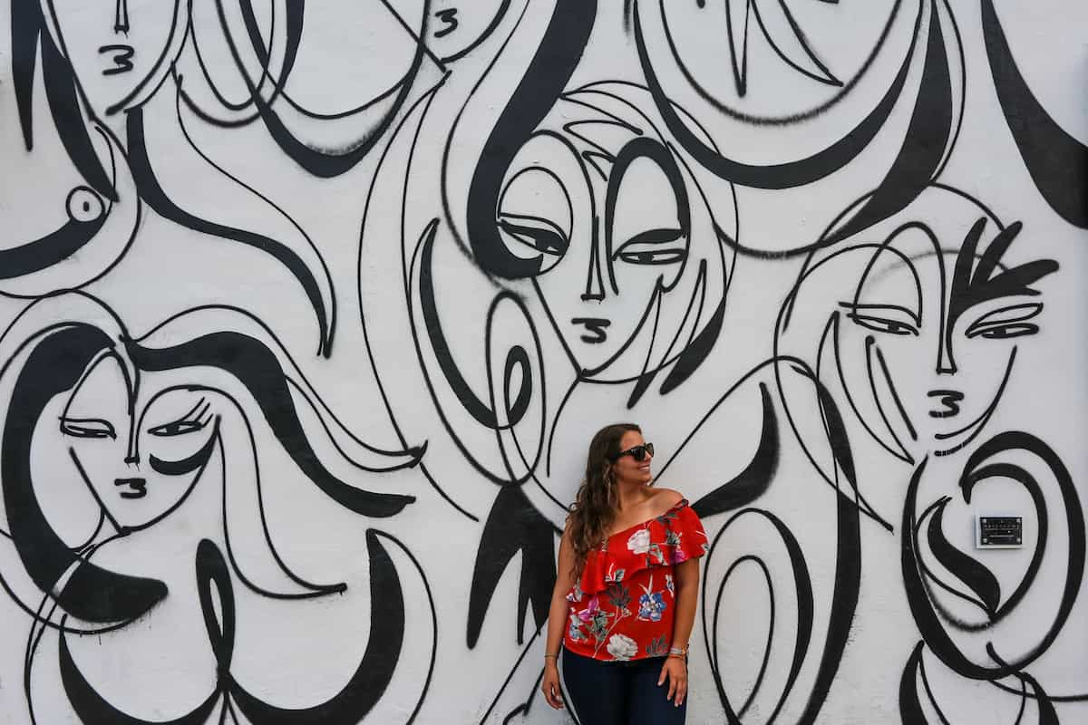 Wynwood Walls Street Graffiti Art