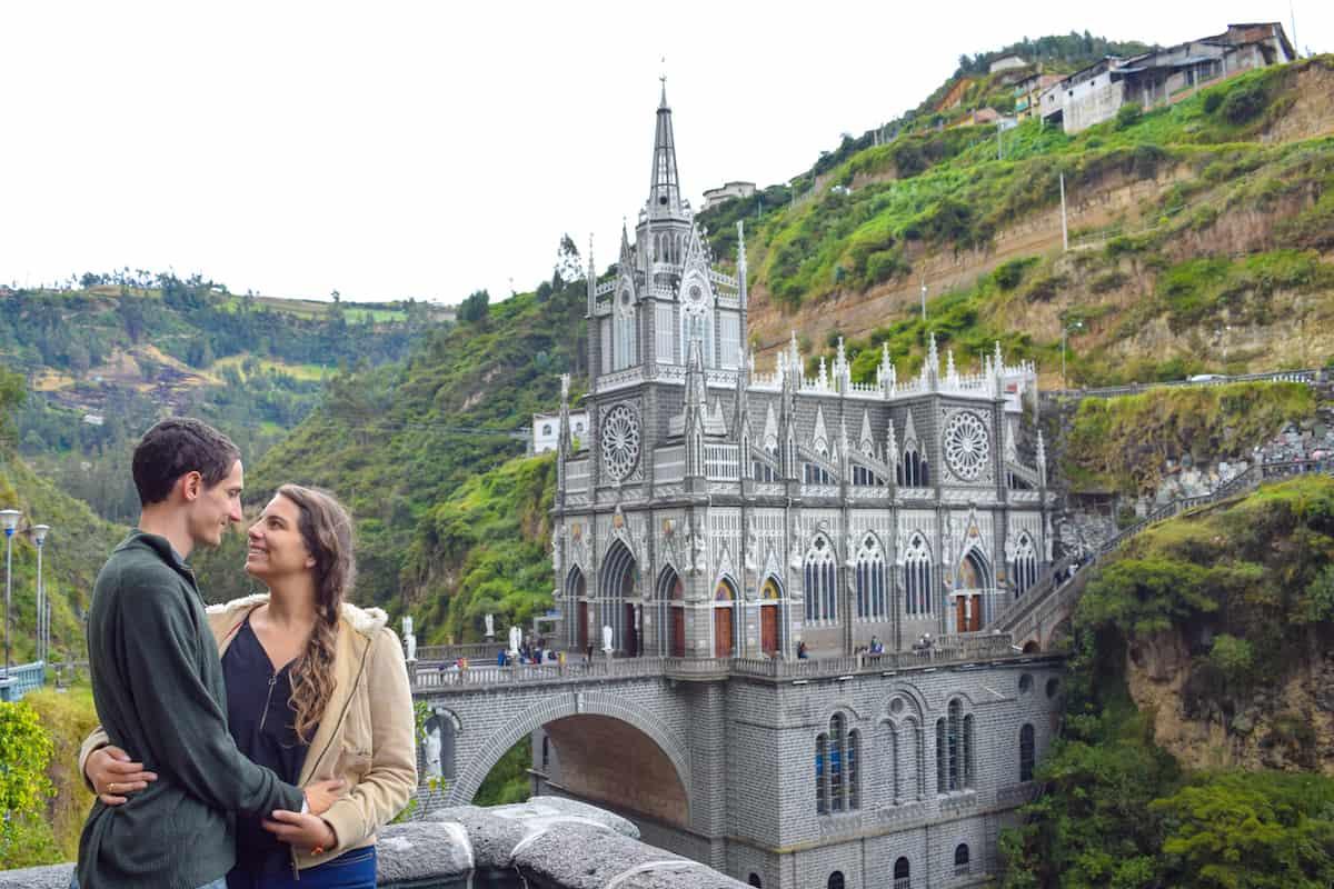 Las Lajas Sanctuary outside of Ipiales, Colombia