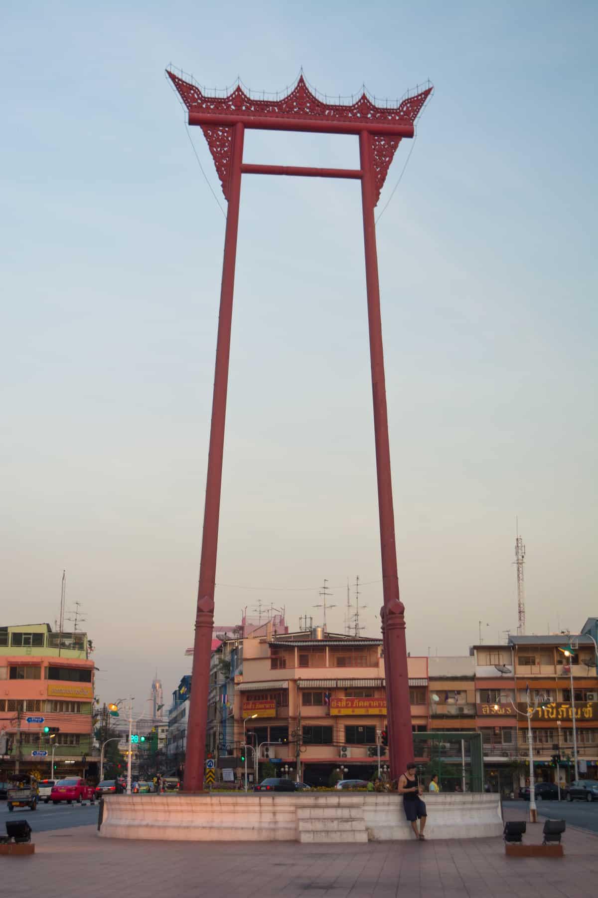 Oscilación gigante con Wat Suthat
