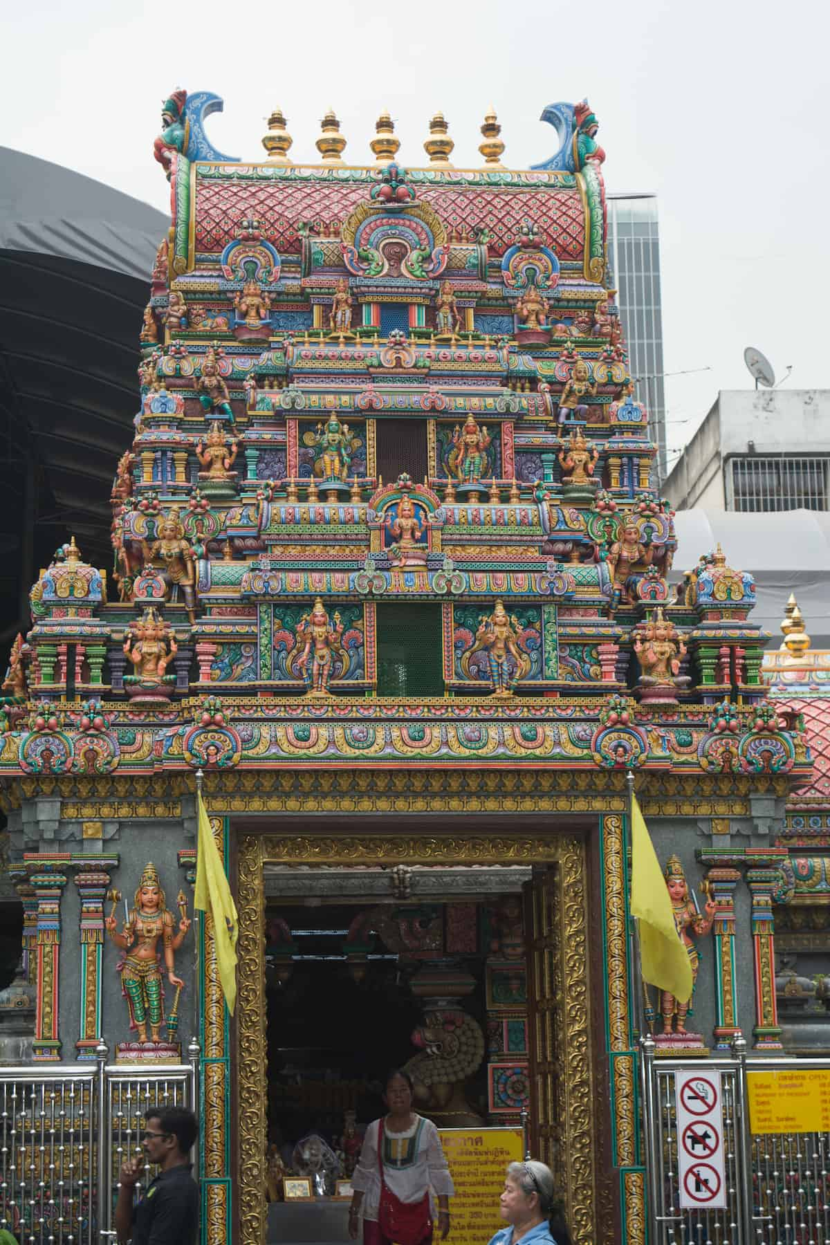 El Templo de Sri Maha Mariamman - Cosas Que Hacer en Bangkok
