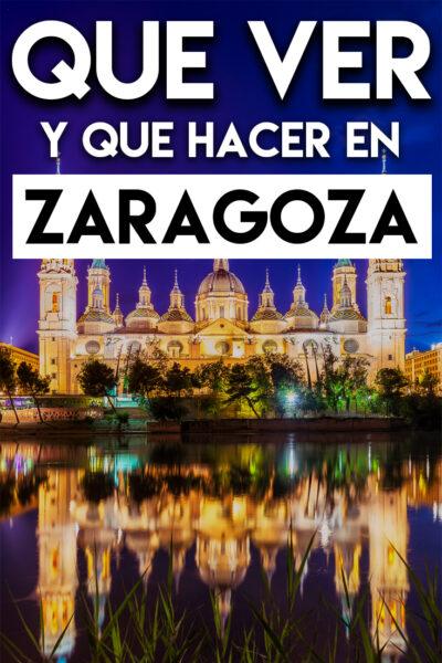 Que ver y que hacer en Zaragoza