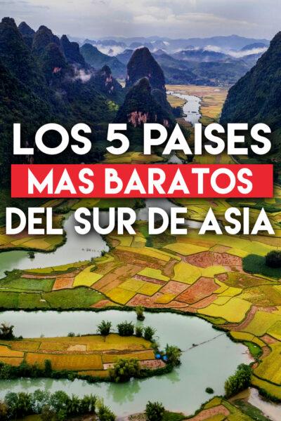Los 5países Más Baratos del Sudeste de Asia Para Viajar