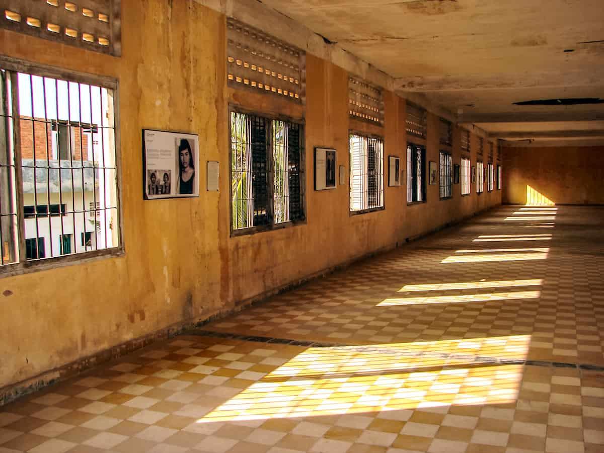 El Museo de Crímenes Genocidas Tuol Sleng