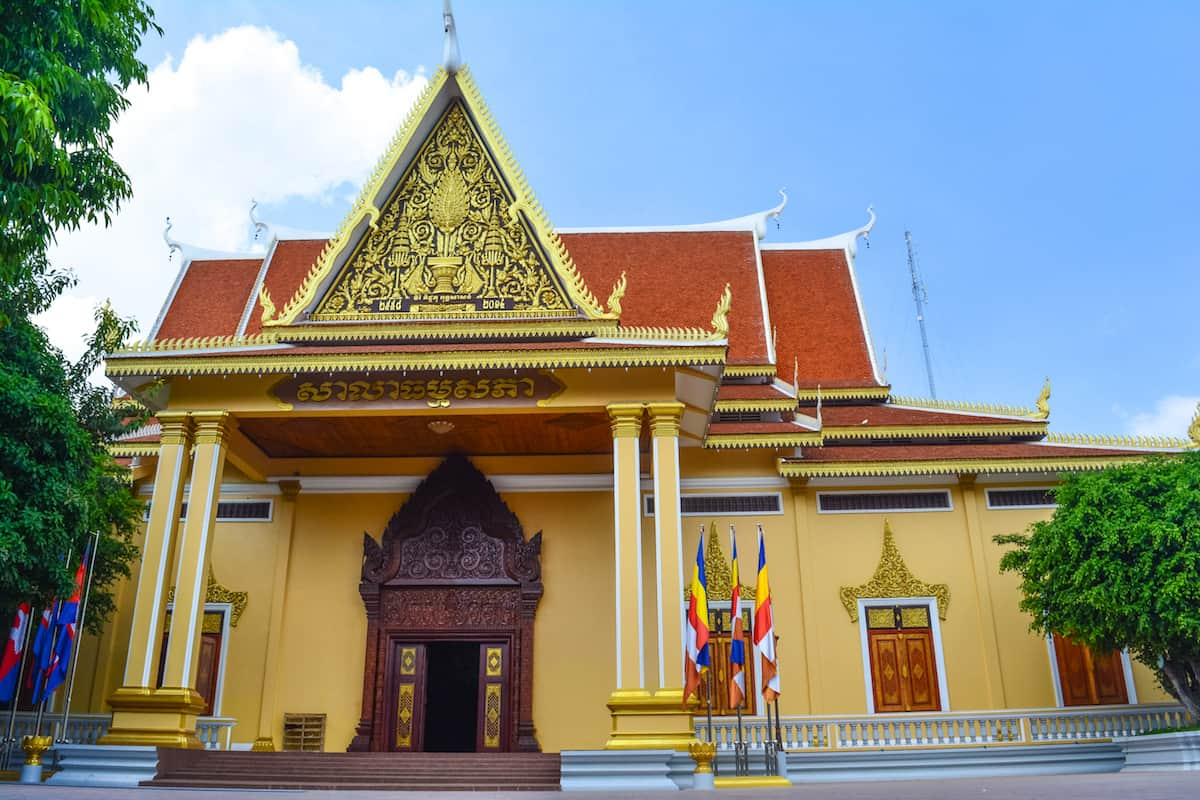 El Templo y parque Wat Botum