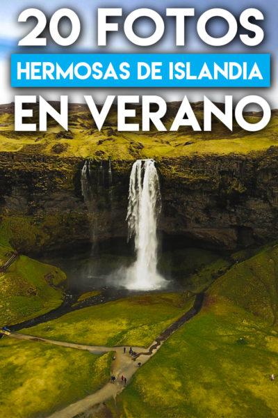 Increibles fotos para visitar Islandia en Verano